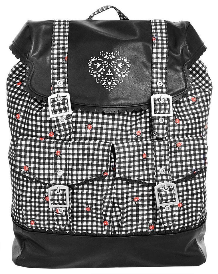 blutsgeschwister Damen Rucksack »palatschinken daypack« in schwarz