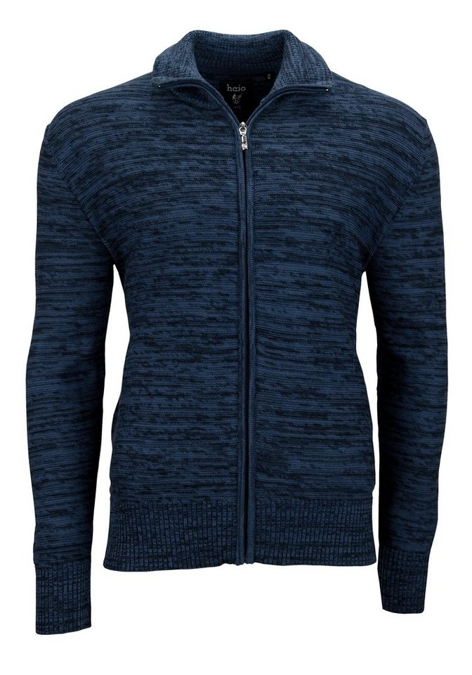 Hajo Strickjacke in marine