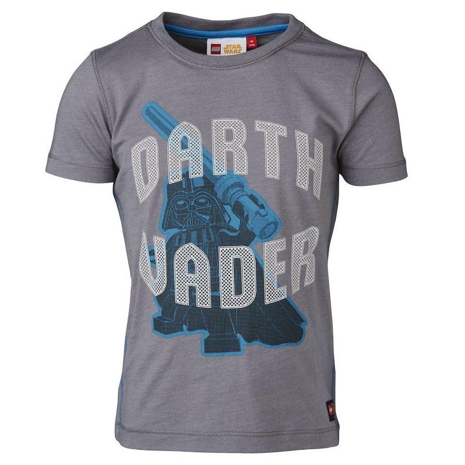 """LEGO Wear STAR WARS(TM) T-Shirt Tony """"Darth Vader"""" kurzarm Shirt in grau"""