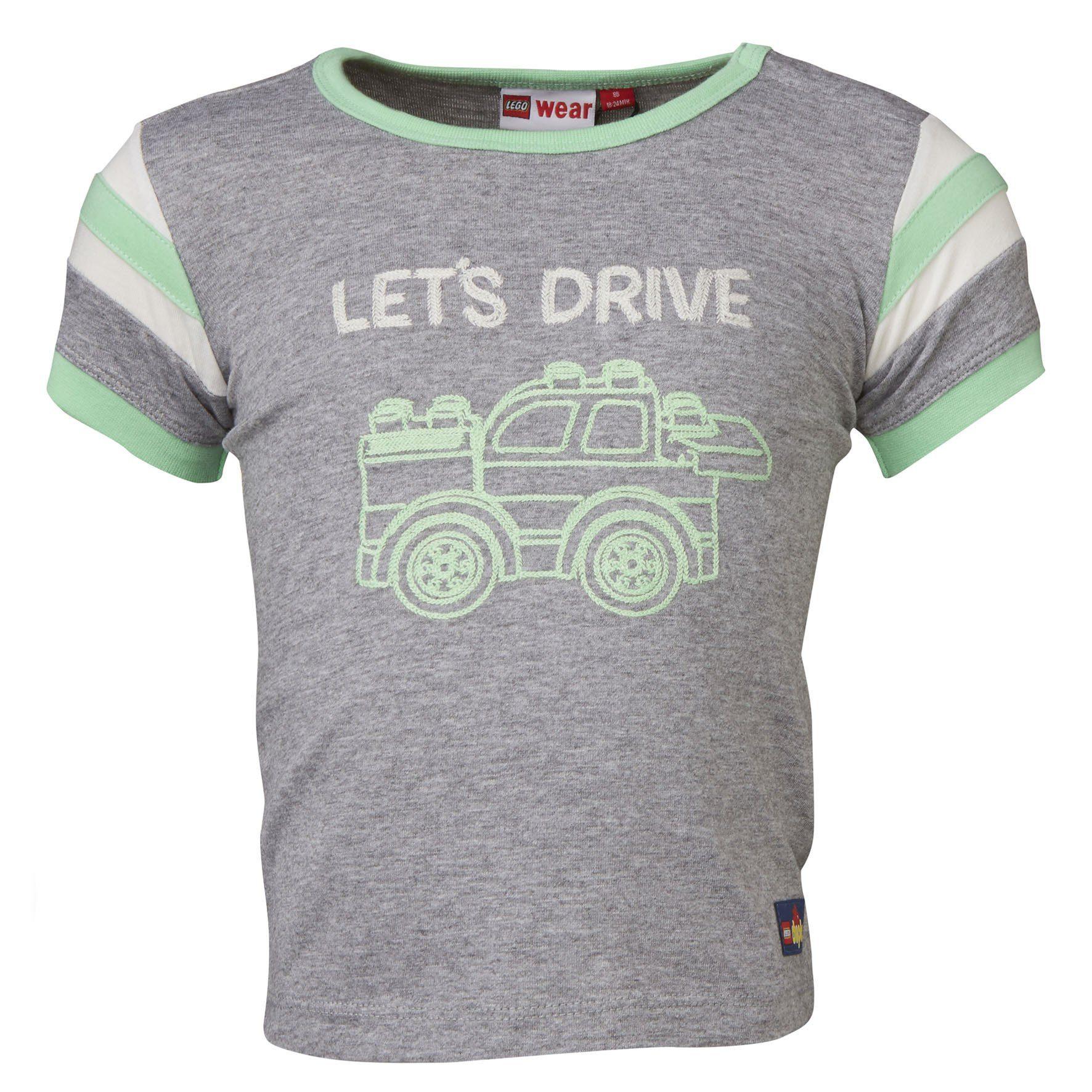 "LEGO Wear Duplo T-Shirt ""Lets Drive"" kurzarm Shirt Trey"