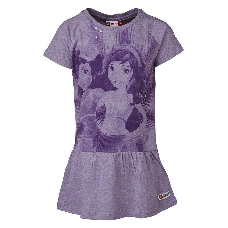 """LEGO Wear Friends Jersey Kleid Dawn """"Girl"""" Dress in violett"""