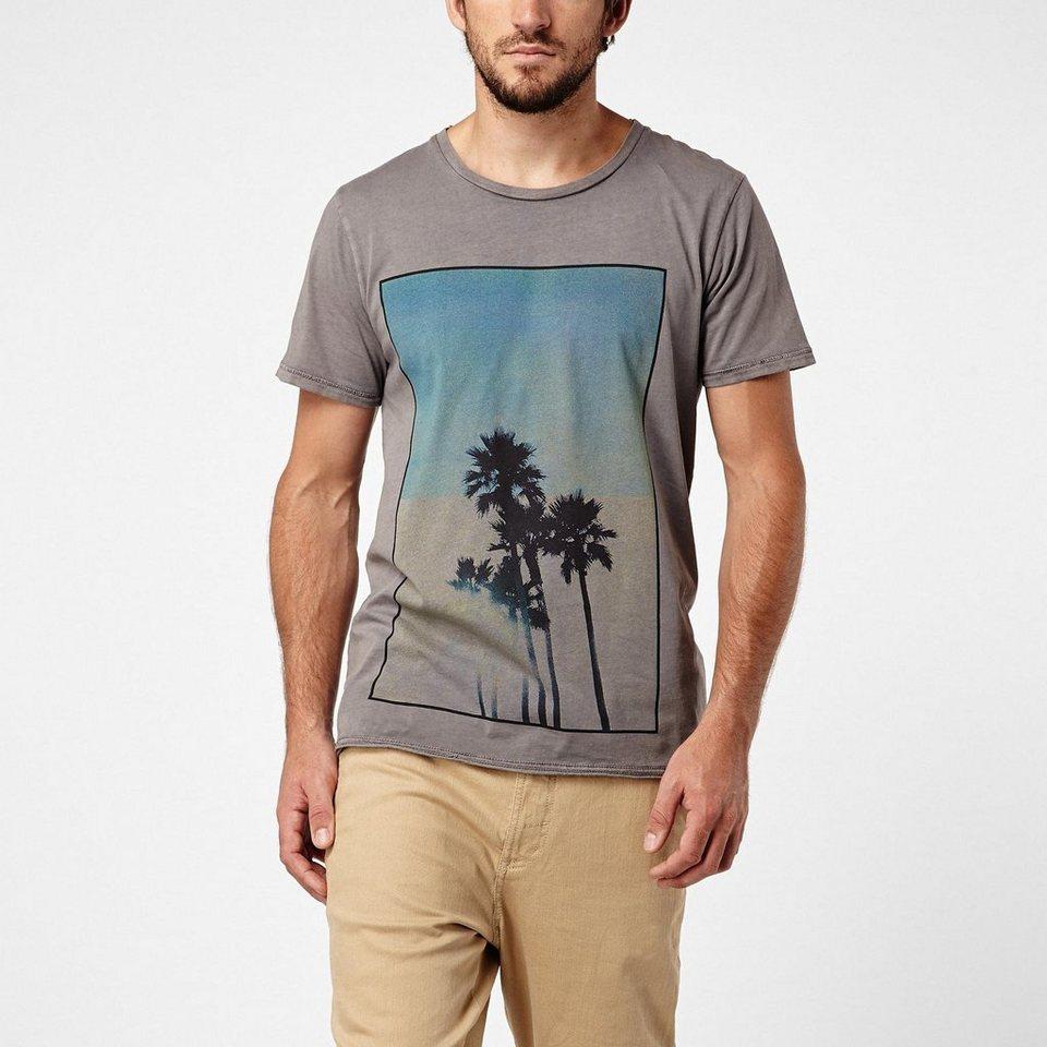 O'Neill T-Shirt kurzärmlig »2-tone Palms« in Grau