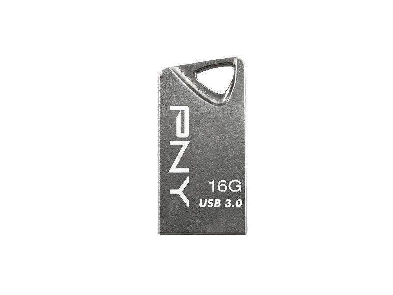 PNY USB 3.0 T3 Attaché »16GB Flash Drive (FDI16GT330-EF)« in silber