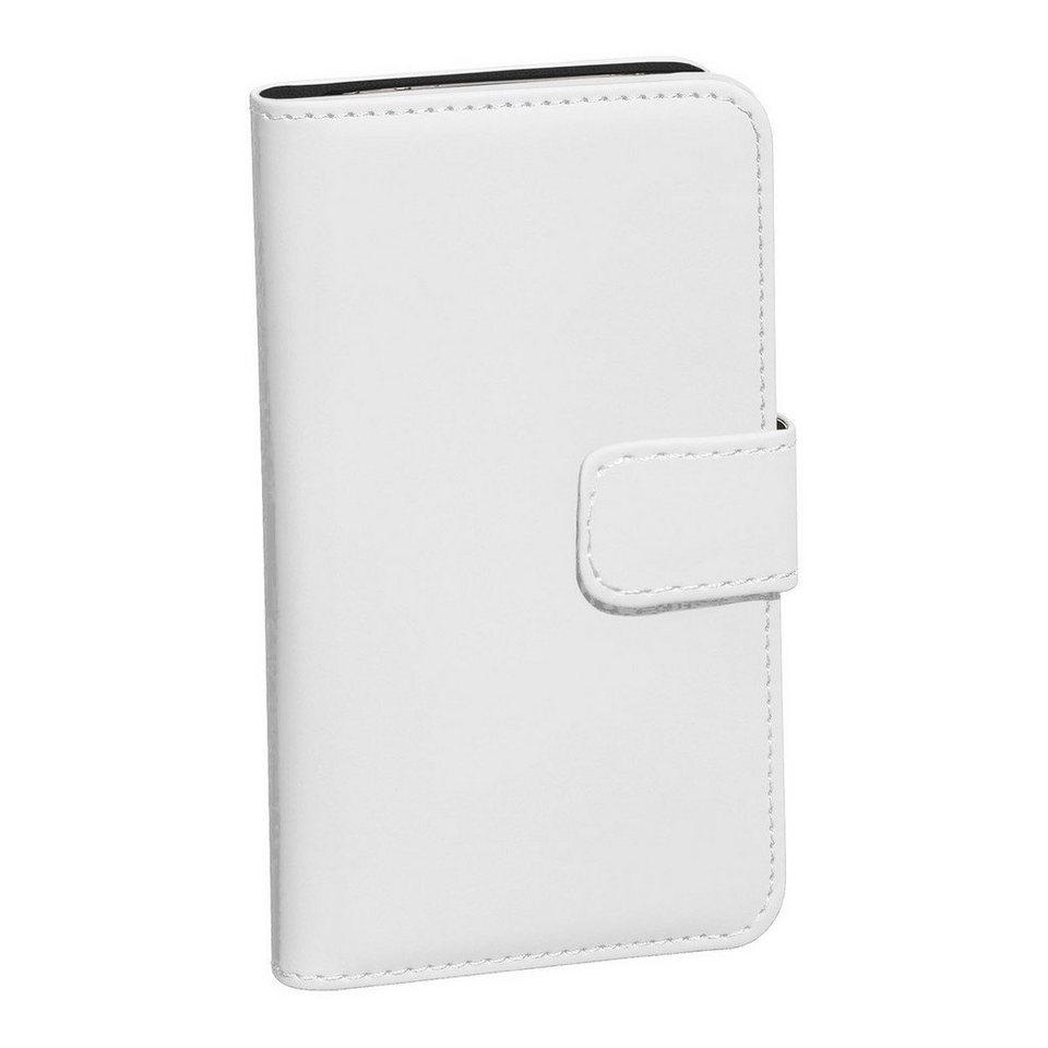 PEDEA Handytasche »Book Cover Classic für Samsung Galaxy S7« in Weiß