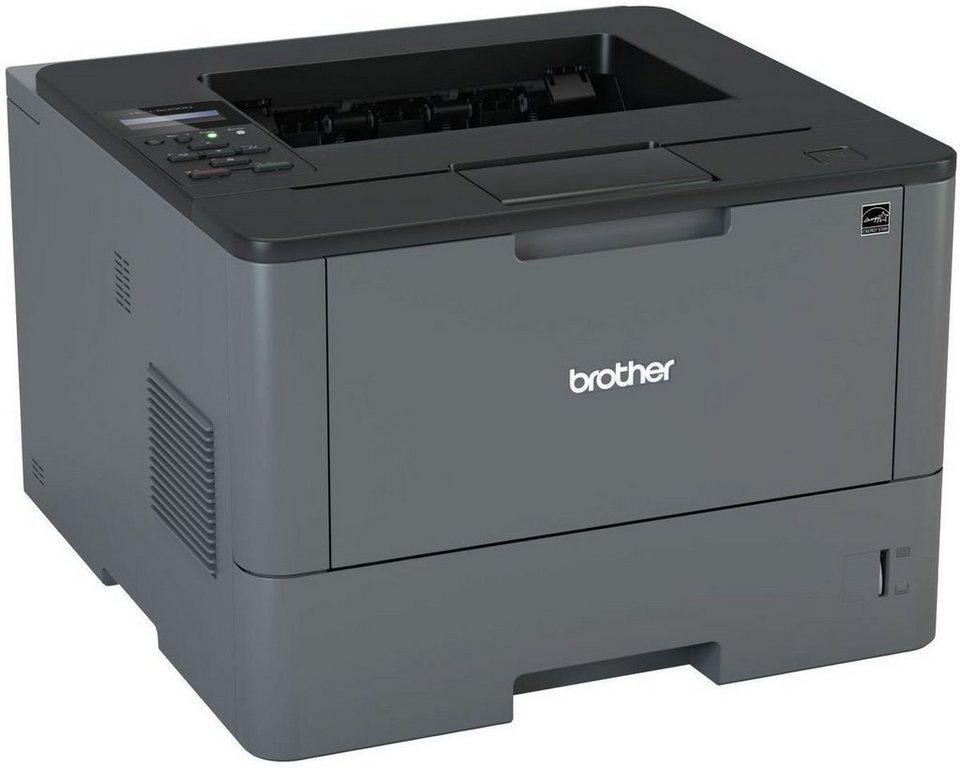 Brother Monolaser-Drucker »HL-L5000D Monolaserdrucker« in Dunkelgrau