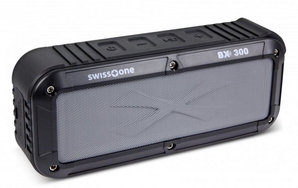 swisstone Lautsprecher »BX300« in Schwarz-Grau