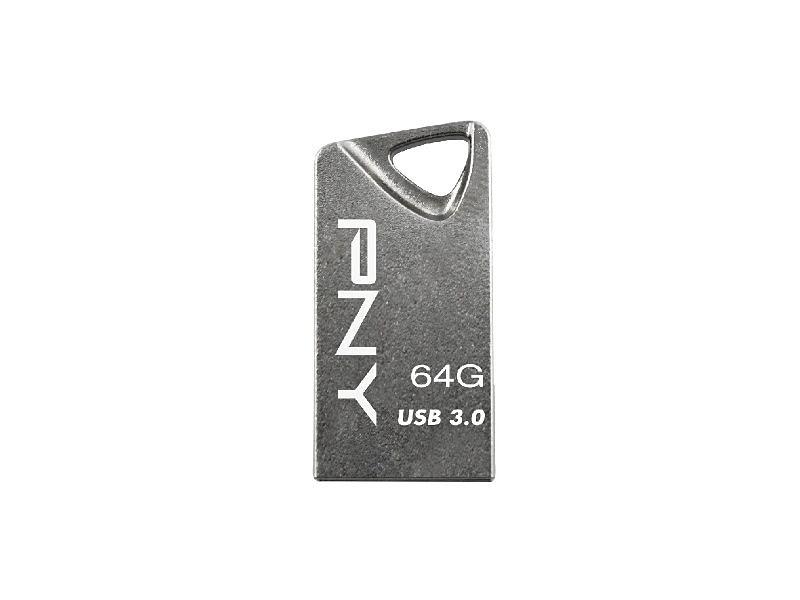 PNY USB 3.0 T3 Attaché »64GB Flash Drive (FDI64GT330-EF)« in grau