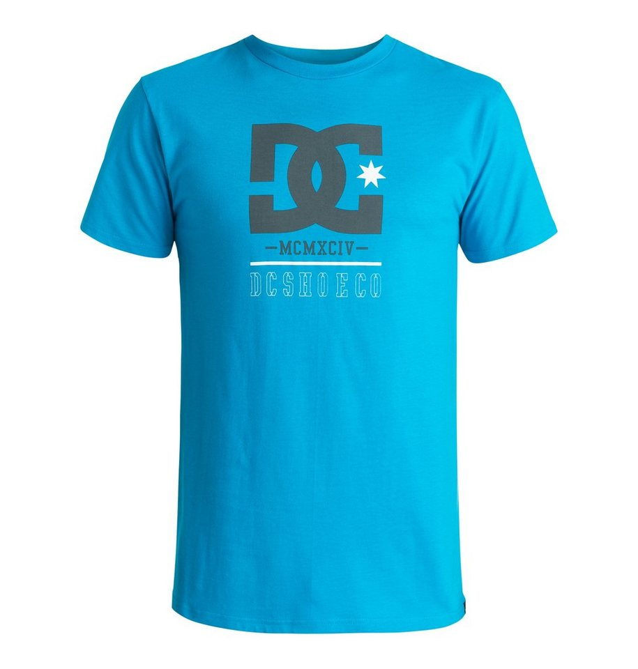 DC Shoes T-Shirt »Rackett« in Blue jewel