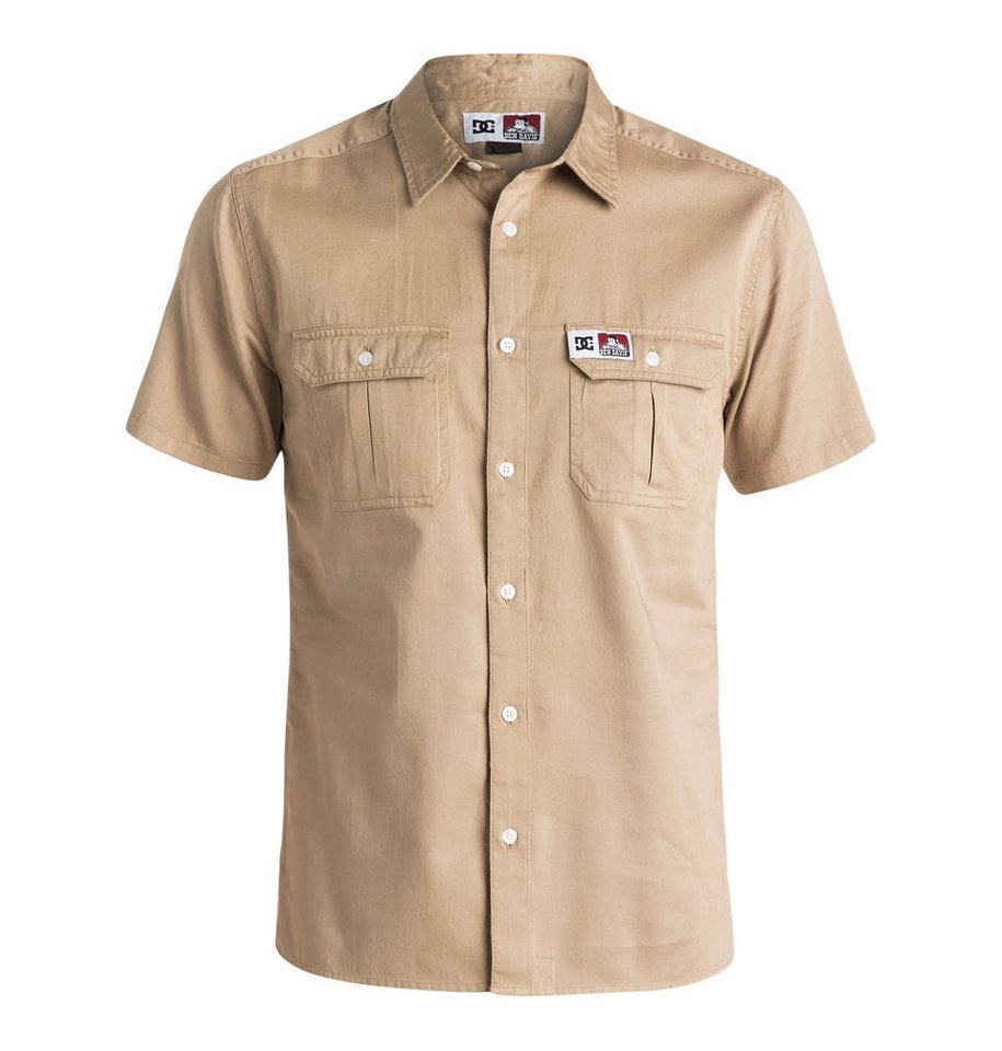 DC Shoes Kurzarmhemd »Ben Davis Shirt« in khaki