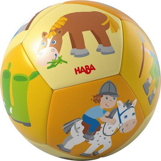 Haba Rasselball »HABA 304597 Babyball Pferd«