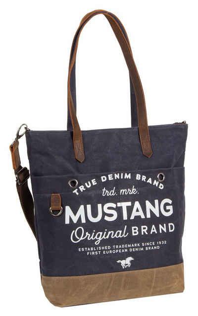 MUSTANG Shopper »Genua«, mit modischem Logoaufdruck