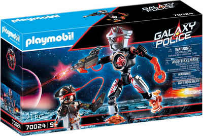 Playmobil® Konstruktions-Spielset »Galaxy Pirates-Roboter (70024), Galaxy Police«, (21 St), Made in Europe
