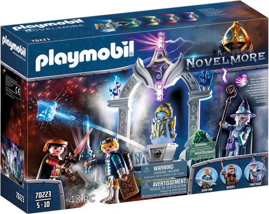 Playmobil® Konstruktions-Spielset »Tempel der Zeit (70223), Novelmore«, (43 St), Made in Germany