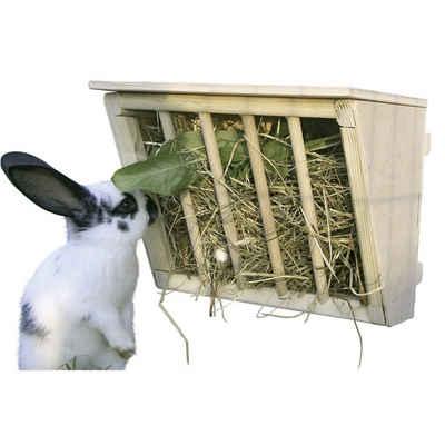 Kerbl Kleintierstall »Kaninchen Heuraufe Holz Sitzbrett«