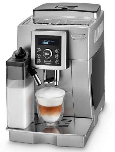 De'Longhi Kaffeevollautomat ECAM 23.466.S, mit LatteCrema Milchsystem, Silber