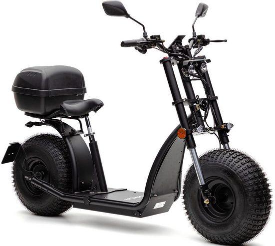 Forca E-Scooter »Knumo 1500 Safety Plus 45 km/h (inkl. Blinker + Gepcäck-Case + Lithium-Akku)«, 1500 W, 45 km/h