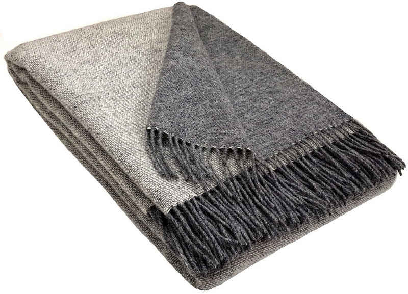 Wolldecke »Wolldecke TIROL (doubleface) aus 100% Schurwolle«, STTS