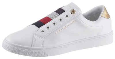 Tommy Hilfiger »TH ELASTIC SLIP ON SNEAKER« Slip-On Sneaker mit gestreiftem Gummizug