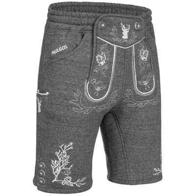 PAULGOS Trachtenhose »PAULGOS Herren Trachten Jogginghose - Design Trachten Lederhose - JOK3 - in 3 Farben erhältlich - Größe S - 5XL«