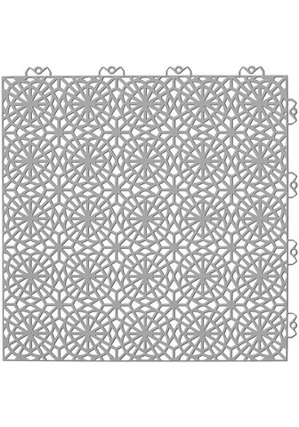 Bergo Flooring Terrassenplatten »XL« 38x38 cm 35-St. ...
