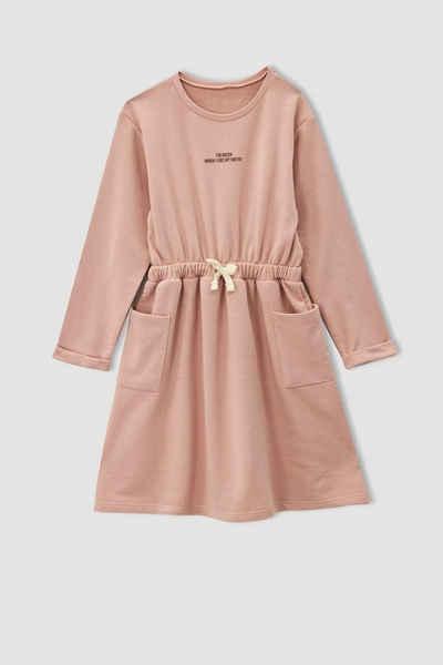 DeFacto 2-in-1-Kleid »Mädchen Kleid REGULAR FIT«