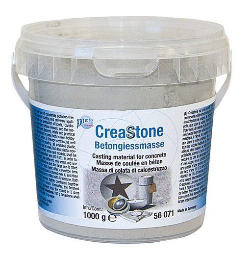 CREARTEC Modellierwerkzeug »Betongiessmasse CreaStone«, 1 kg