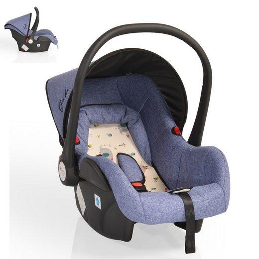 Moni Babyschale »Babyschale Gala, Gruppe 0+«, 3 kg, (0 - 13 kg), Sitzpolster, Fußabdeckung