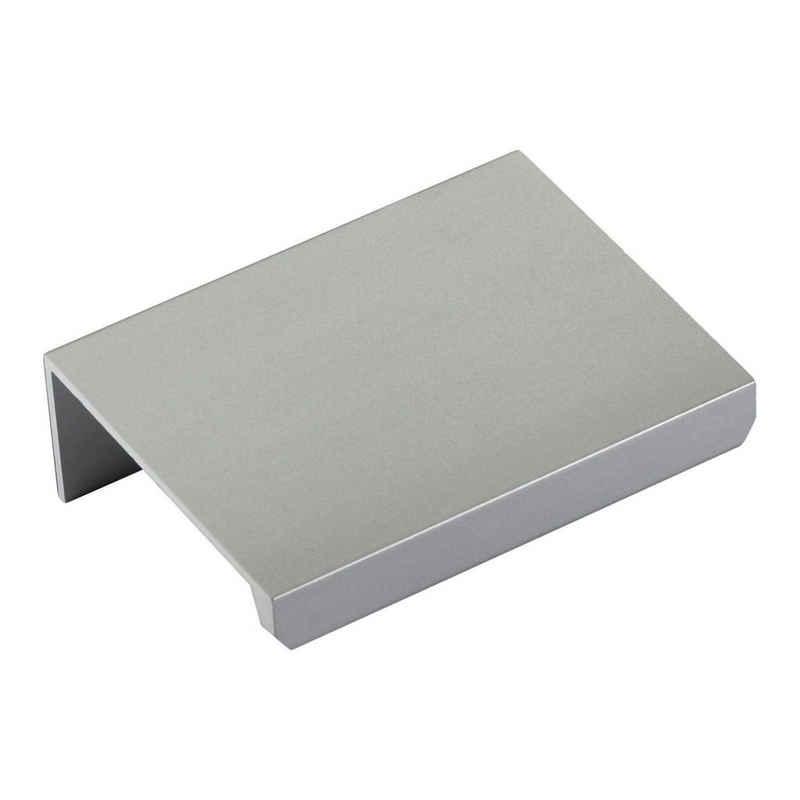 SO-TECH® Möbelgriff, Griffleiste Griff BLANKETT Jane Chrom weiß oder schwarz 50 - 780 mm incl. Schrauben