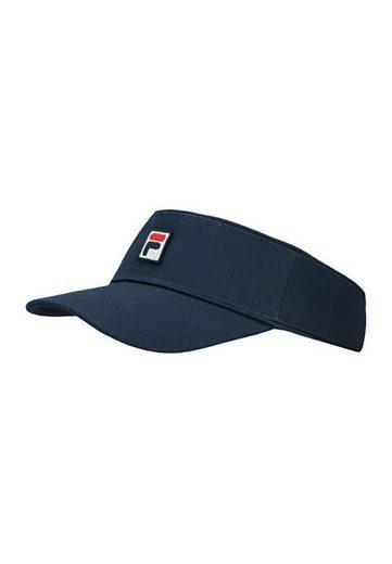 Fila Baseball Cap »Fila Cap VISOR 686140 170 Black Iris Dunkelblau«