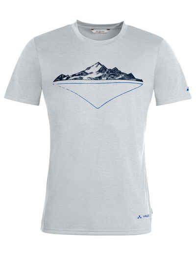 VAUDE T-Shirt »Men's Tekoa Shirt II« (1-tlg) Grüner Knopf