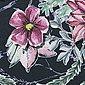 larissastoffe Stoff »Jersey Stoff Blumen Aquarell, Swafing schwarz«, Stoffe zum Nähen, Meterware, 50 cm x volle Breite, Bild 3