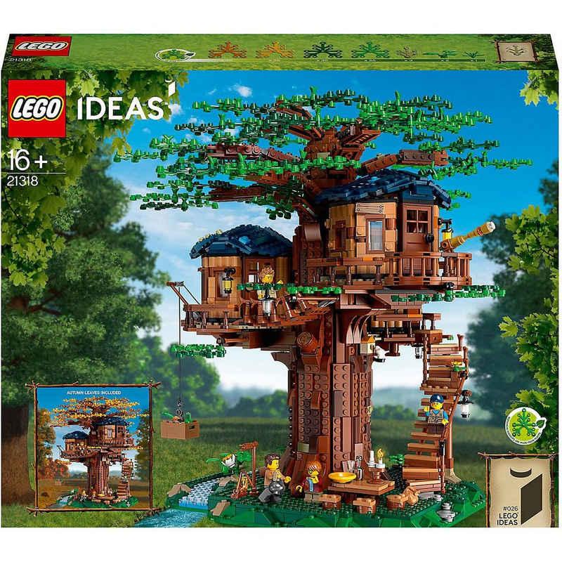 LEGO® Konstruktions-Spielset »LEGO® Ideas 21318 Baumhaus«