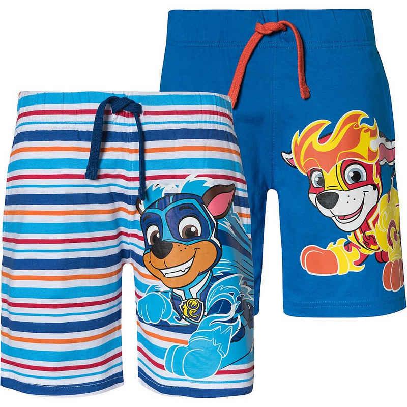 PAW PATROL Shorts »PAW Patrol Shorts Doppelpack für Jungen«