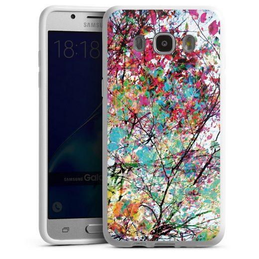 DeinDesign Handyhülle »Autumn8« Samsung Galaxy J5 Duos (2016), Hülle Malerei Blätter Kunst