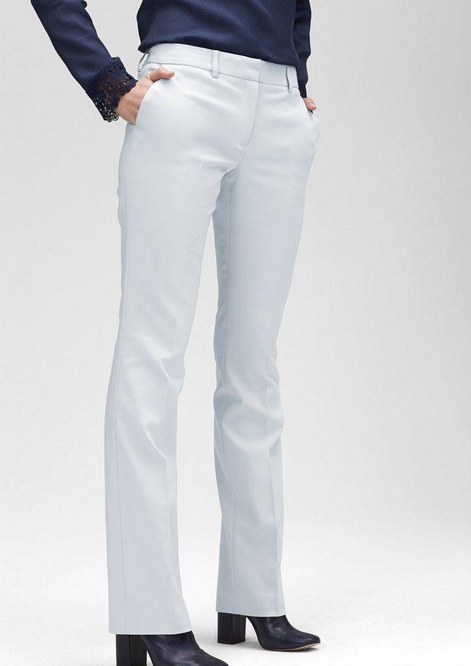 s.Oliver PREMIUM Slim: Hose aus Baumwollstretch in glowing grey