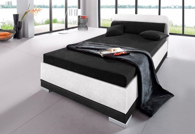 Maintal Polsterbett| Microvelours| in 6 verschiedenen Ausführungen| Made in Germany | Schlafzimmer > Betten > Polsterbetten | Maintal