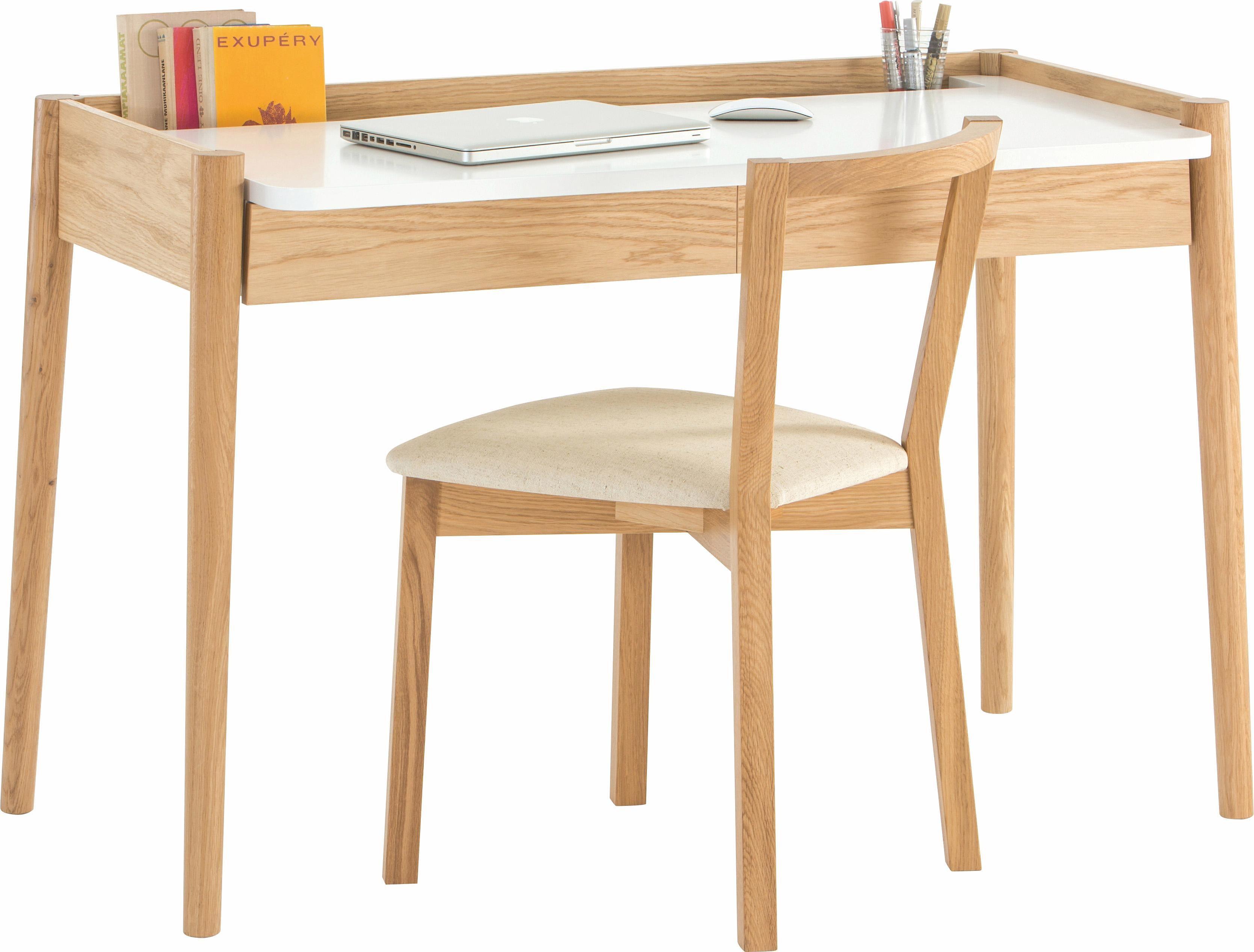 andas Schreibtisch »Freja«, Eiche im nordischen Design