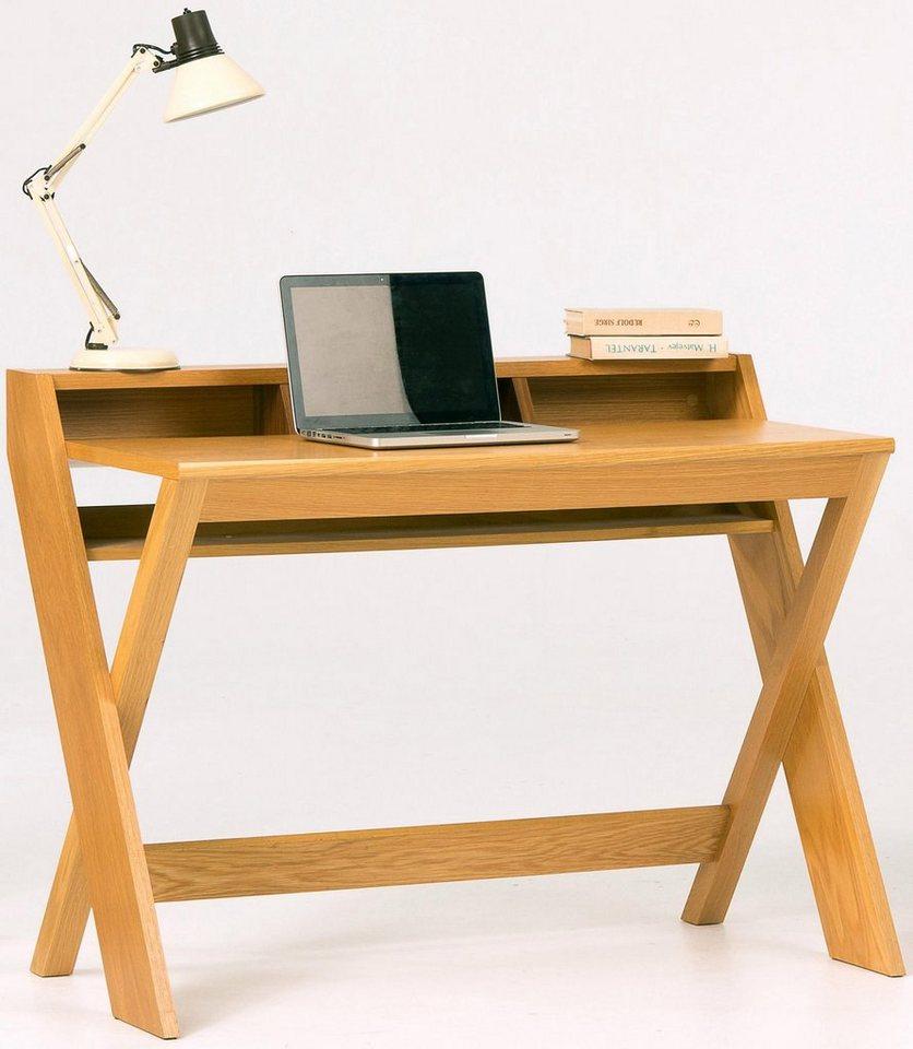 andas Schreibtisch »Raven«, Eiche im nordischen Design in natur