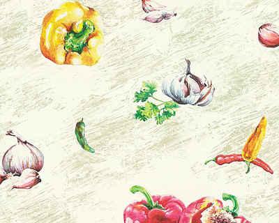 Schaumtapete, Livingwalls, »Faro 4«, Gemüse Sale Angebote Neupetershain