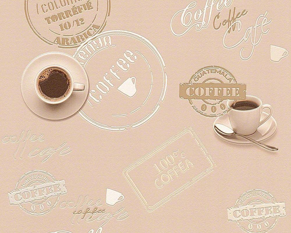 Schaumtapete, Livingwalls, »Faro 4«, Kaffee