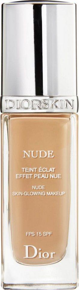 Dior, »Diorskin Nude Fluid«, Foundation in 030 Medium Beige