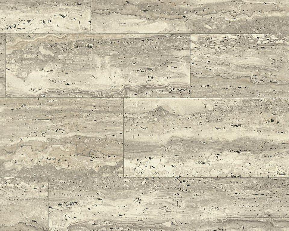 Schaumtapete, Livingwalls, »Faro 4« in beige