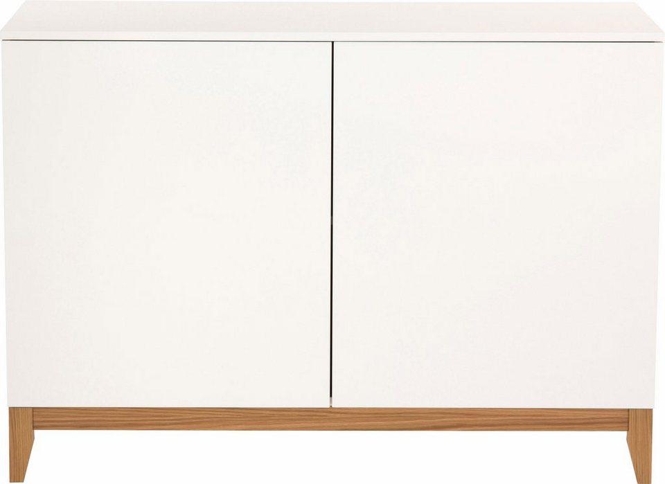 andas Sideboard »Elinee«, Breite 120 cm in weiss/natur