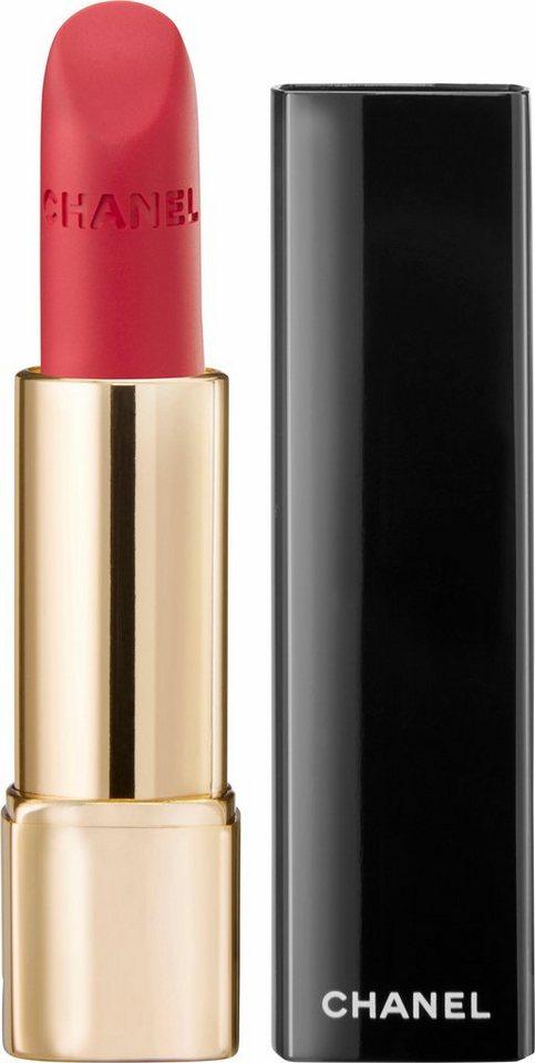 Chanel, »Rouge Allure Velvet«, Lippenstift in 37 L'Exuberante