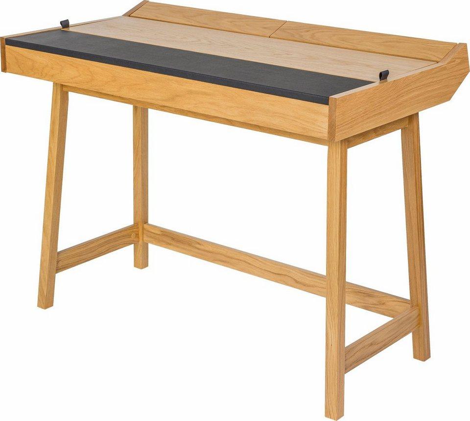 andas Schreibtisch »Brompton«, Eiche im nordischen Design in natur