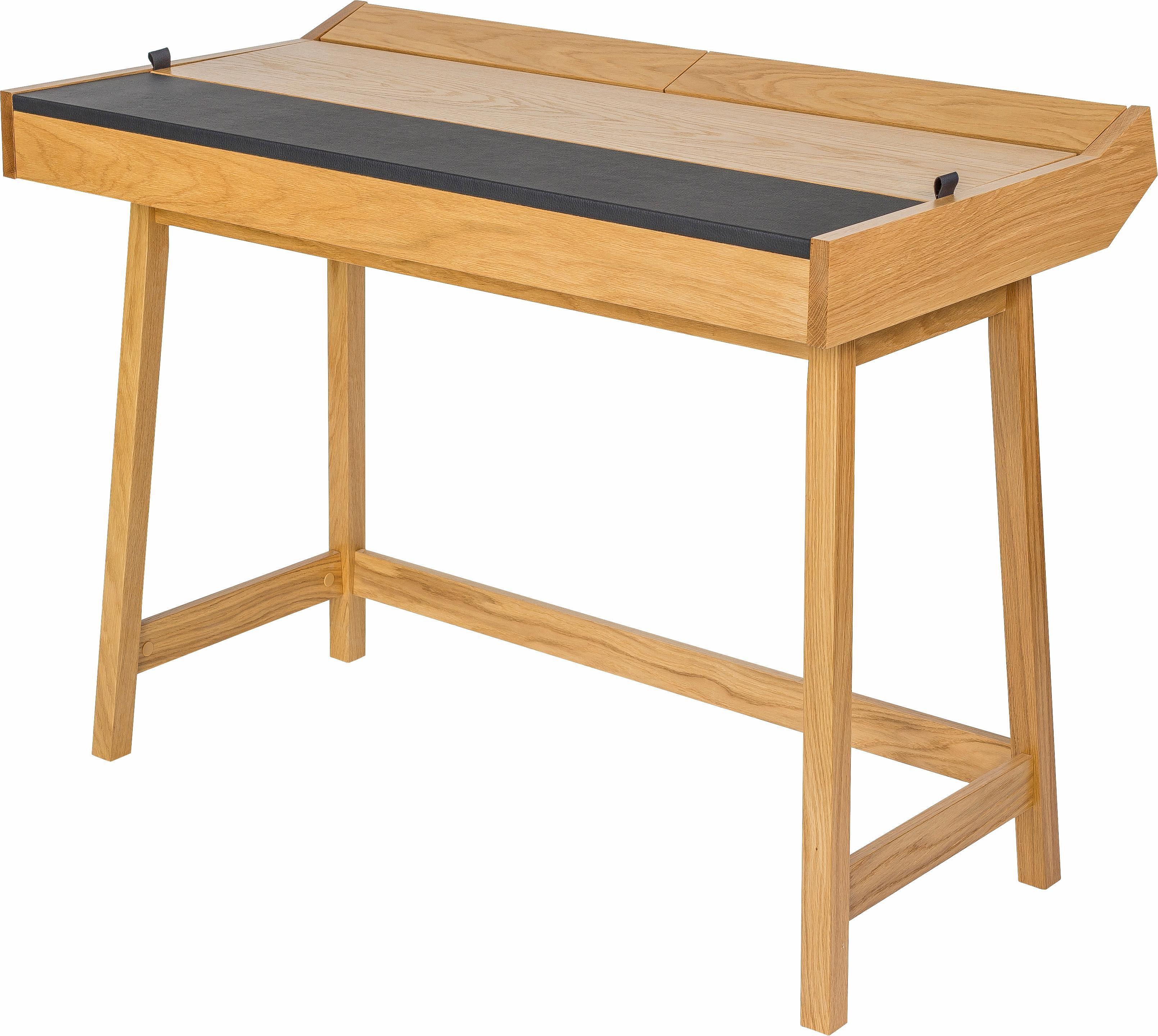 andas Schreibtisch »Brompton«, Eiche im nordischen Design