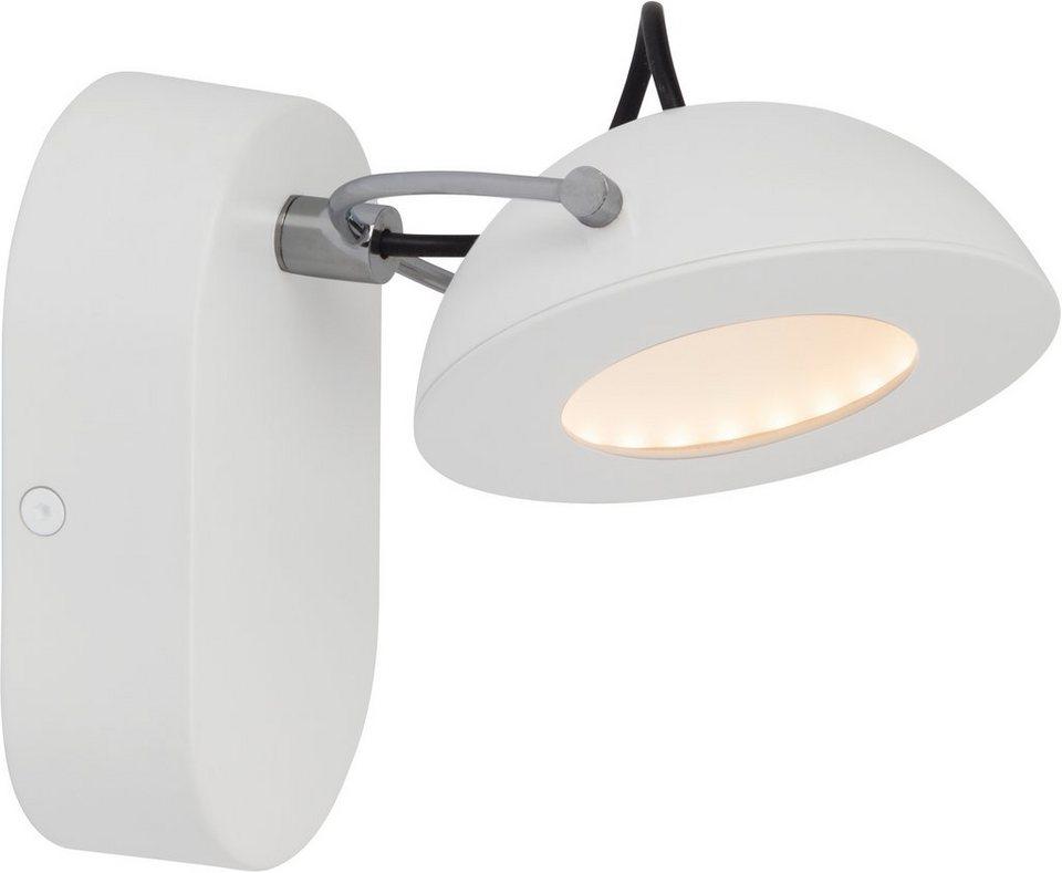 AEG LED Wandleuchte, 1flg., »LETORA« in Alu-Druckguss, weiß