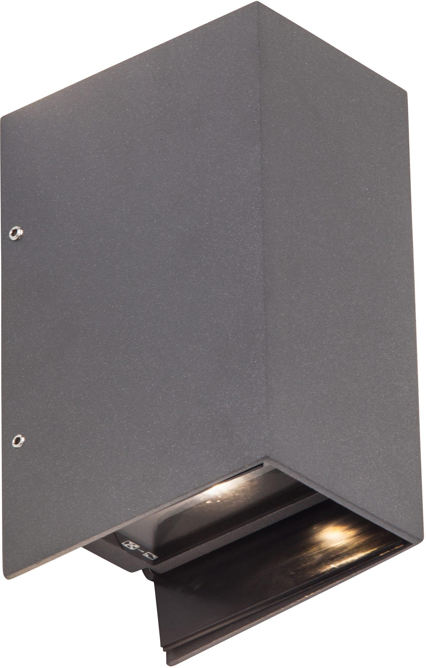 AEG Leuchten LED Außen-Wandleuchte »ADAPT«, 2-flammig