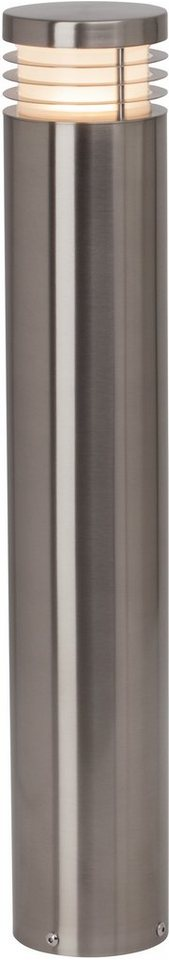 AEG LED Außenleuchte, 1flg., Sockelleuchte, »KASTRA« in Aluminium /Kunststoff, nickel gebürstet