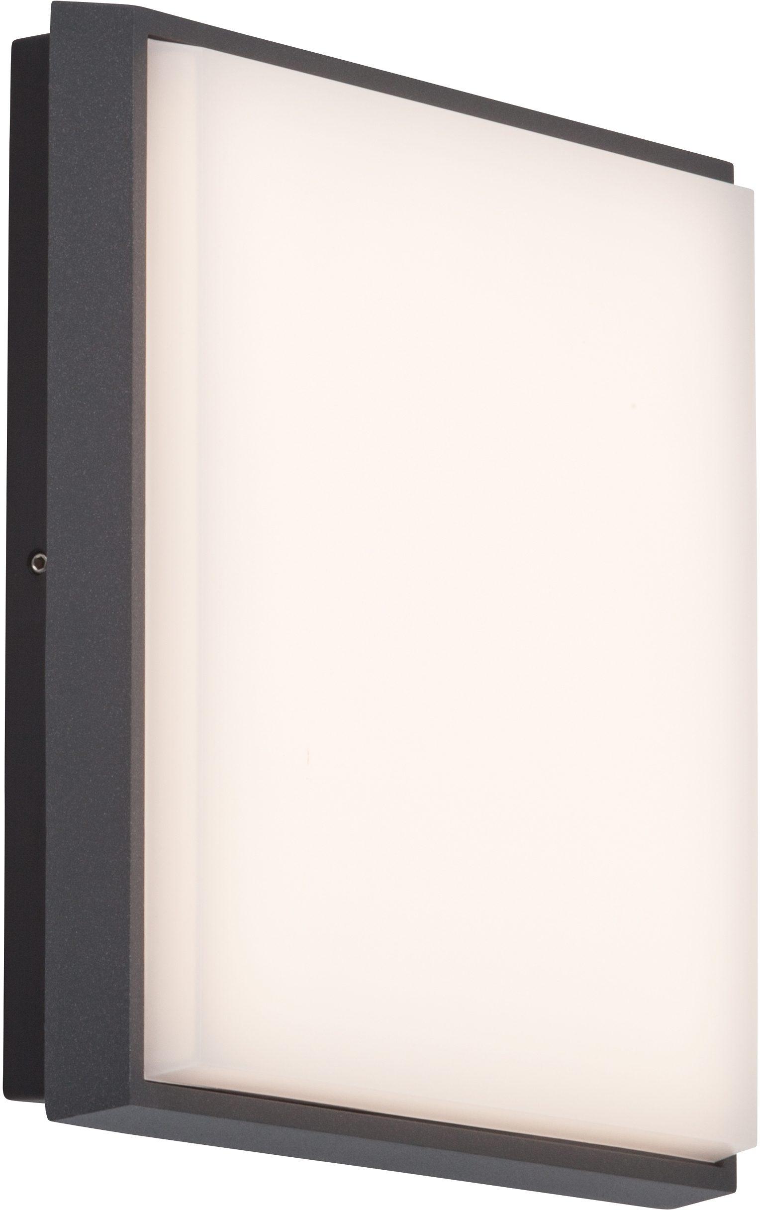 AEG LED Außenleuchte, 1flg., Wand-/Deckenleuchte, »LETAN SQUARE«